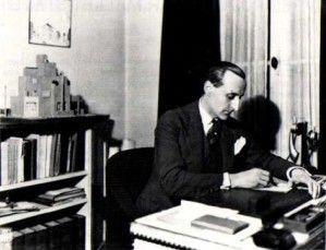 portrait bureau Mallet stevens