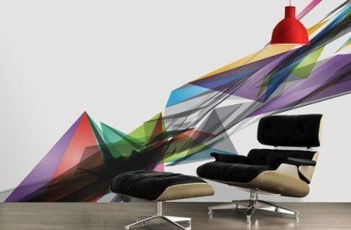 papier-peint-triangle-de-couleur