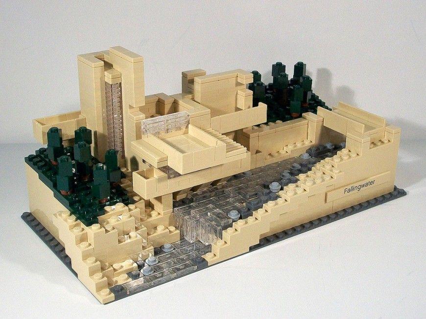 Fallingwater lego