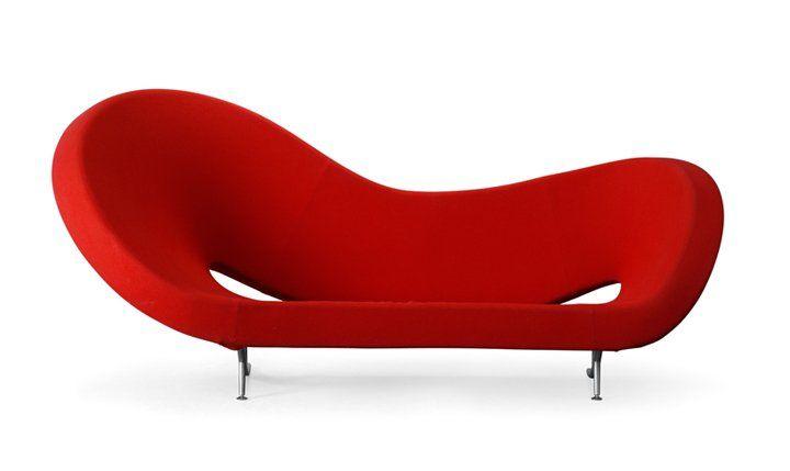 canapé rouge