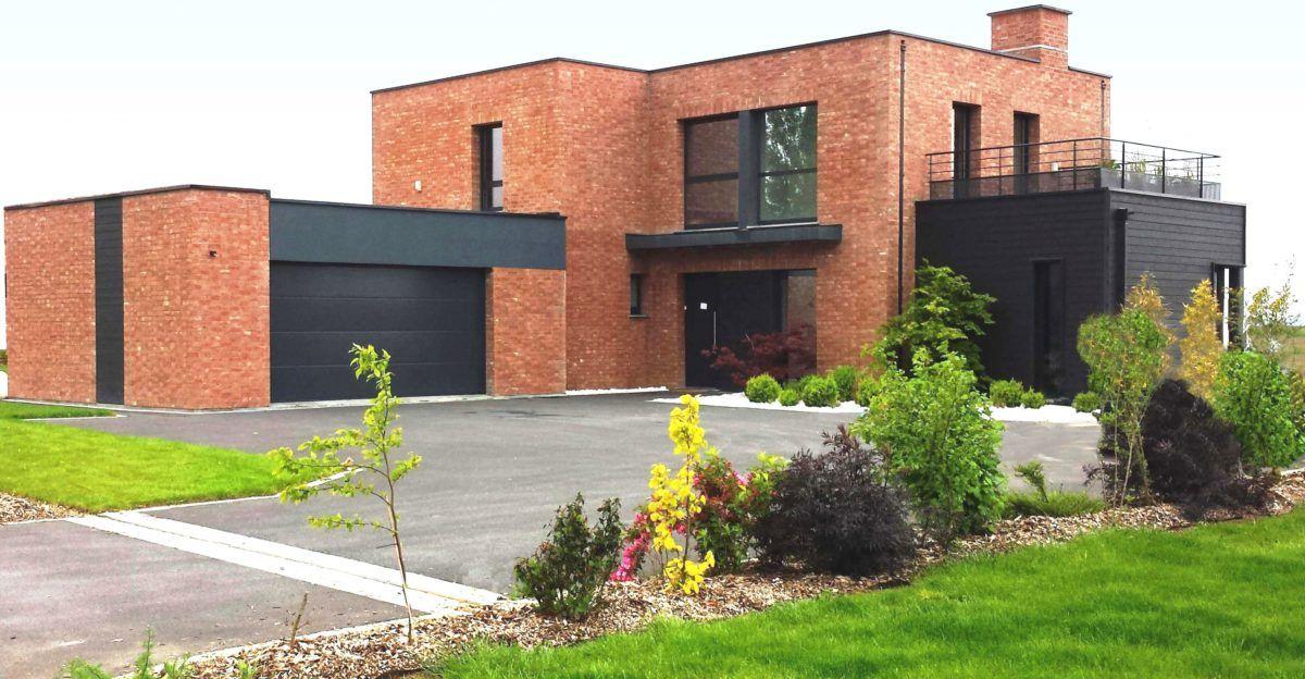 Blog Demeures Du Nord Les Villas Geometriques Se Declinent Aussi